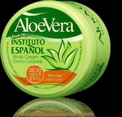 Aloe Vera Körpercreme - 400 ml - 100% natürliches Aloe Vera