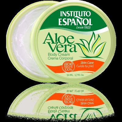 Aloe Vera Körpercreme - 50 ml - 100% natürliches Aloe Vera