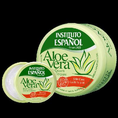 Aloe Vera Körpercreme Sparset 400 ml + 50 ml